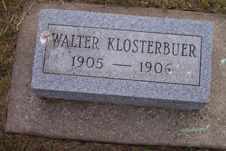 KLOSTERBUER, WALTER - Hamilton County, Iowa | WALTER KLOSTERBUER