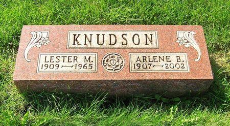 LARSON KNUDSON, ARLENE B. - Hamilton County, Iowa   ARLENE B. LARSON KNUDSON
