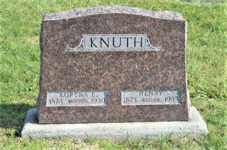 QUICK KNUTH, LORENA E. - Hamilton County, Iowa   LORENA E. QUICK KNUTH