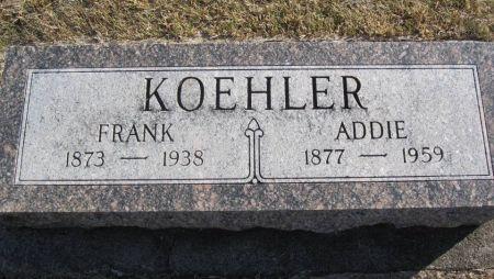 KOEHLER, FRANK - Hamilton County, Iowa | FRANK KOEHLER