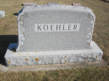 KOEHLER, FAMILY STONE - Hamilton County, Iowa   FAMILY STONE KOEHLER