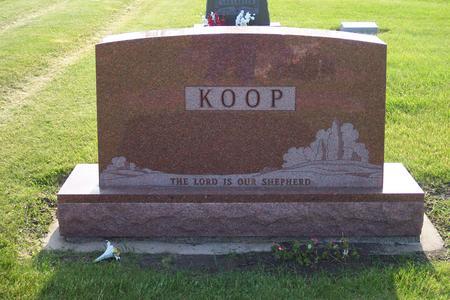 KOOP, FAMILY GRAVESTONE - Hamilton County, Iowa | FAMILY GRAVESTONE KOOP