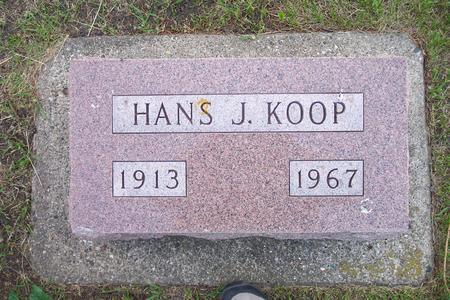 KOOP, HANS J. - Hamilton County, Iowa   HANS J. KOOP