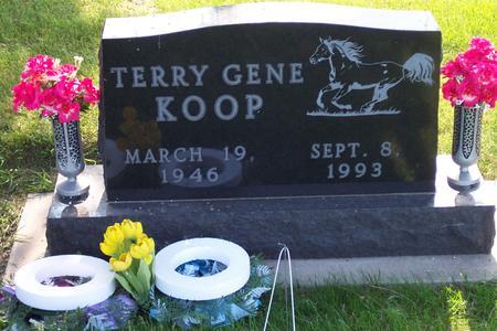 KOOP, TERRY GENE - Hamilton County, Iowa   TERRY GENE KOOP