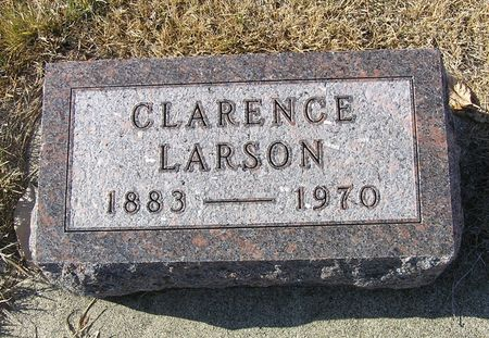 LARSON, CLARENCE - Hamilton County, Iowa | CLARENCE LARSON