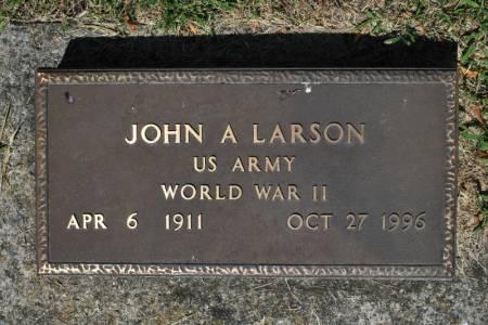 LARSON, JOHN ARCHER - Hamilton County, Iowa | JOHN ARCHER LARSON