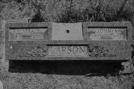 WILLIAMS LARSON, ELVIRA DARLINE ELLEN - Hamilton County, Iowa | ELVIRA DARLINE ELLEN WILLIAMS LARSON