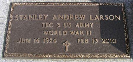 LARSON, STANLEY ANDREW - Hamilton County, Iowa | STANLEY ANDREW LARSON