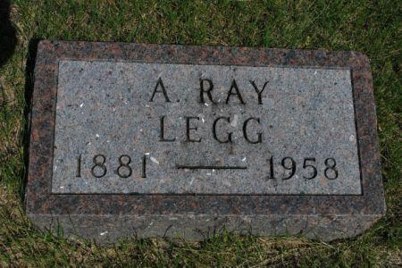 LEGG, A. RAY - Hamilton County, Iowa | A. RAY LEGG