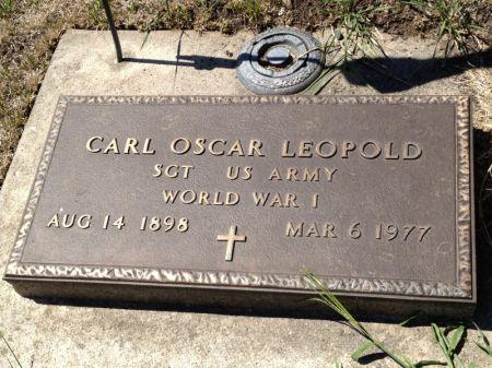 LEOPOLD, CARL OSCAR - Hamilton County, Iowa   CARL OSCAR LEOPOLD