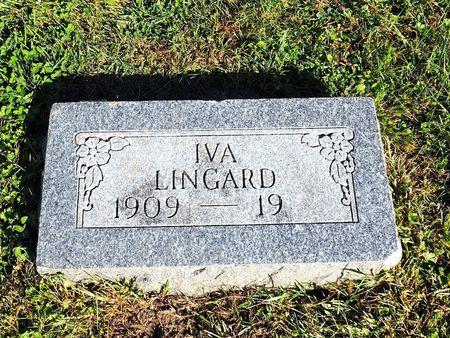 LINGARD, IVA - Hamilton County, Iowa   IVA LINGARD