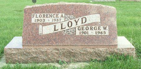 LLOYD, FLORENCE A. - Hamilton County, Iowa   FLORENCE A. LLOYD