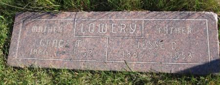 LOWERY, GRACE M. - Hamilton County, Iowa | GRACE M. LOWERY