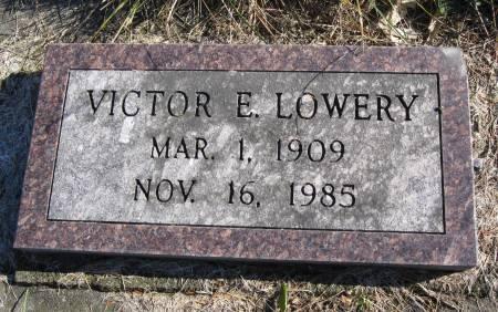 LOWERY, VICTOR E. - Hamilton County, Iowa | VICTOR E. LOWERY