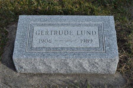 LUND, GERTRUDE - Hamilton County, Iowa | GERTRUDE LUND