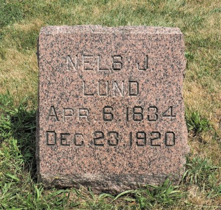 LUND, NELS J. - Hamilton County, Iowa   NELS J. LUND