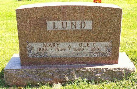 LUND, MARY - Hamilton County, Iowa | MARY LUND