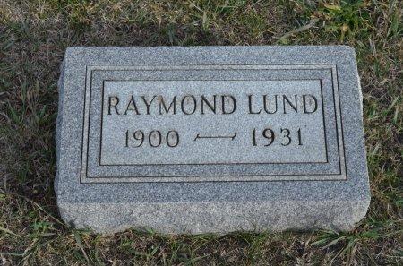 LUND, RAYMOND - Hamilton County, Iowa   RAYMOND LUND