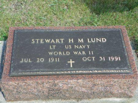 LUND, STEWART H. M. - Hamilton County, Iowa | STEWART H. M. LUND