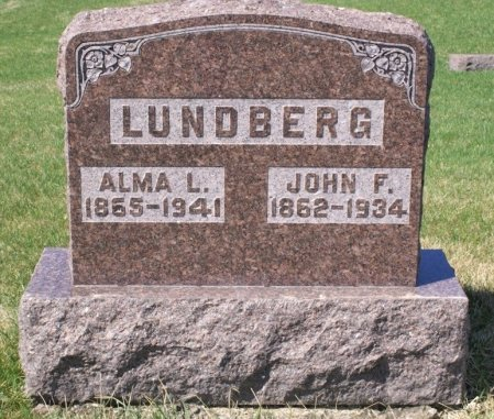 STROMERT LUNDBERG, ALMA L. - Hamilton County, Iowa | ALMA L. STROMERT LUNDBERG