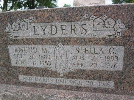 LYDERS, STELLA G. - Hamilton County, Iowa | STELLA G. LYDERS