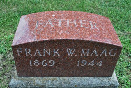 MAAG, FRANK W. - Hamilton County, Iowa   FRANK W. MAAG