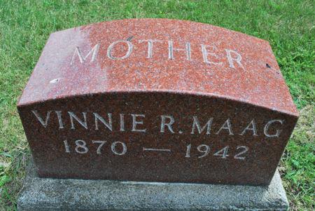MAAG, VINNIE R. - Hamilton County, Iowa   VINNIE R. MAAG
