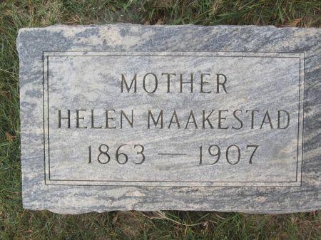 MAAKESTAD, HELEN - Hamilton County, Iowa   HELEN MAAKESTAD