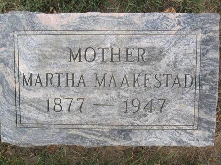 MAAKESTAD, MARTHA - Hamilton County, Iowa   MARTHA MAAKESTAD