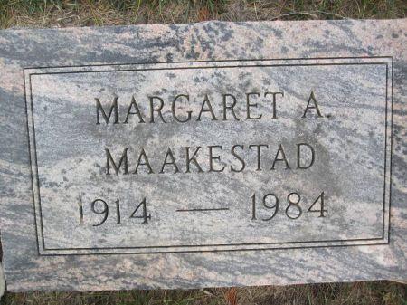 MAAKESTAD, MARGARET A. - Hamilton County, Iowa | MARGARET A. MAAKESTAD