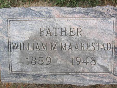 MAAKESTAD, WILLIAM M. - Hamilton County, Iowa | WILLIAM M. MAAKESTAD