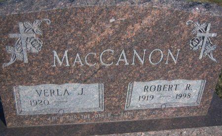 MACCANON, ROBERT R. - Hamilton County, Iowa   ROBERT R. MACCANON