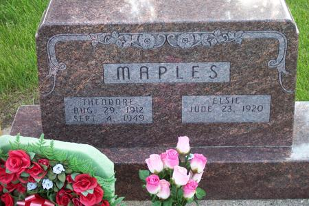 MAPLES, ELSIE - Hamilton County, Iowa | ELSIE MAPLES