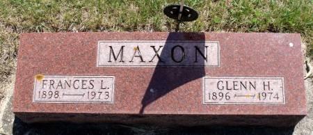 MAXON, GLENN H. - Hamilton County, Iowa   GLENN H. MAXON