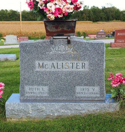 MCALISTER, RUTH E. - Hamilton County, Iowa | RUTH E. MCALISTER