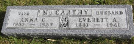 MCCARTHY, ANNA C. - Hamilton County, Iowa | ANNA C. MCCARTHY