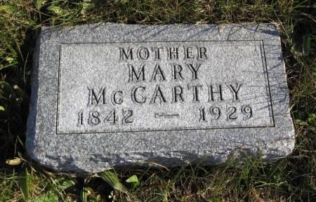 MCCARTHY, MARY - Hamilton County, Iowa | MARY MCCARTHY
