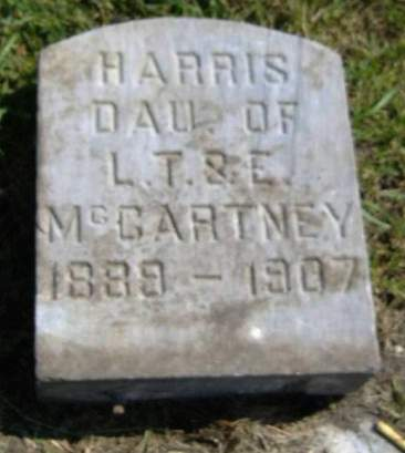 MCCARTNEY, HARRIS - Hamilton County, Iowa | HARRIS MCCARTNEY
