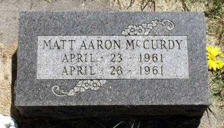 MCCURDY, MATT AARON - Hamilton County, Iowa | MATT AARON MCCURDY