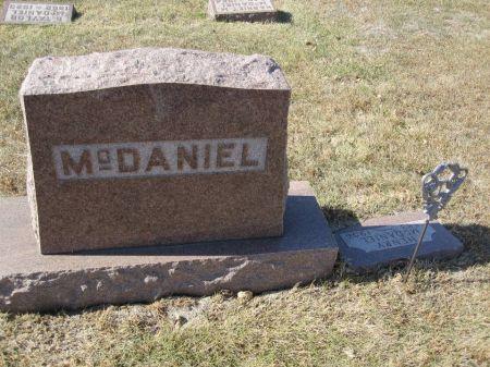 MCDANIEL, FAMILY STONE - Hamilton County, Iowa | FAMILY STONE MCDANIEL