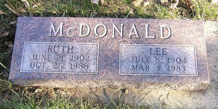MCDONALD, LEE - Hamilton County, Iowa   LEE MCDONALD