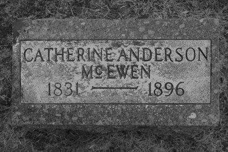 ANDERSON MCEWEN, CATHERINE - Hamilton County, Iowa | CATHERINE ANDERSON MCEWEN