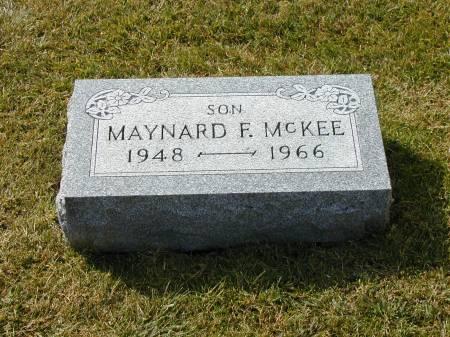 MCKEE, MAYNARD F. - Hamilton County, Iowa | MAYNARD F. MCKEE