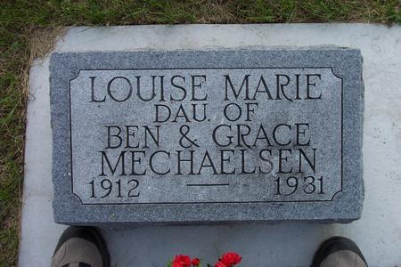 MECHAELSEN, LOUISE MARIE - Hamilton County, Iowa | LOUISE MARIE MECHAELSEN