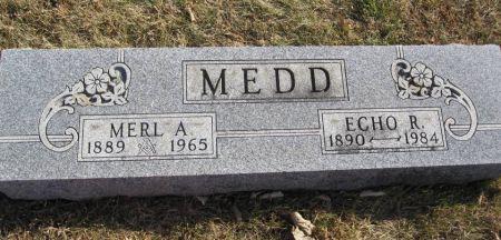 MEDD, ECHO R. - Hamilton County, Iowa | ECHO R. MEDD