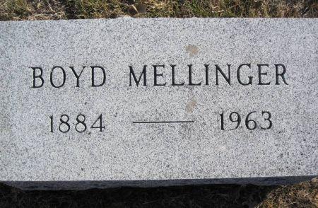 MELLINGER, BOYD - Hamilton County, Iowa   BOYD MELLINGER