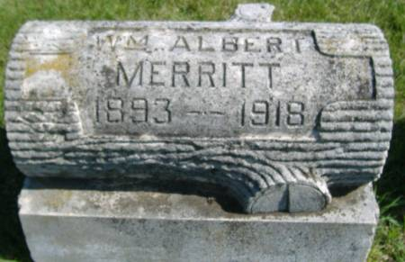MERRITT, WILLIAM ALBERT - Hamilton County, Iowa   WILLIAM ALBERT MERRITT