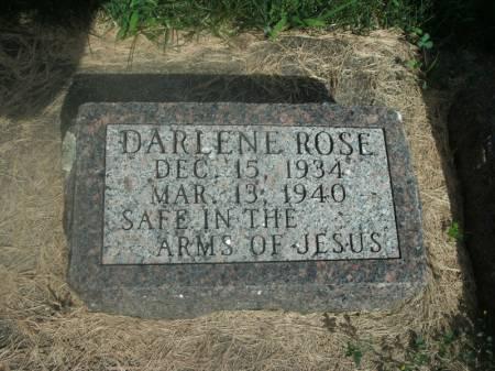MERZ, DARLENE ROSE - Hamilton County, Iowa   DARLENE ROSE MERZ