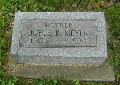 SKROVIG MEYER, JOYCE B. - Hamilton County, Iowa   JOYCE B. SKROVIG MEYER