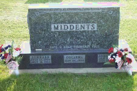 MIDDENTS, COLLENE - Hamilton County, Iowa | COLLENE MIDDENTS